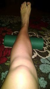 Lots of foam rolling lately